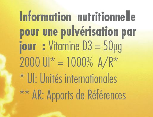Composition Vitamine D3